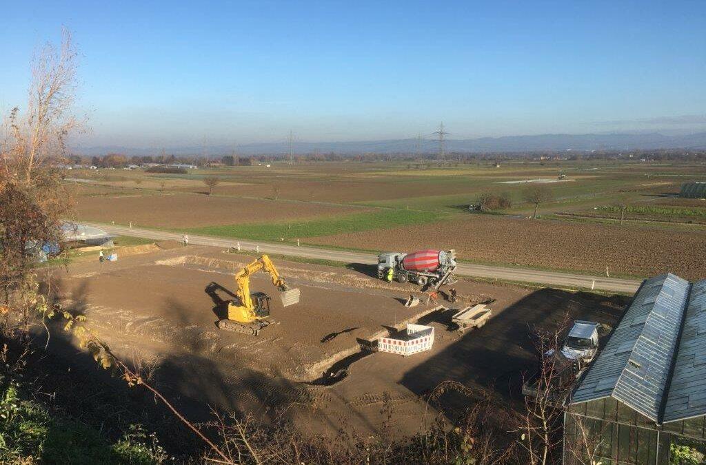 Querbeet – Bauprojekt nimmt Formen an